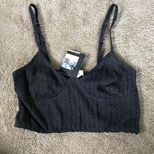 Urban outfitters pins and needles crop top